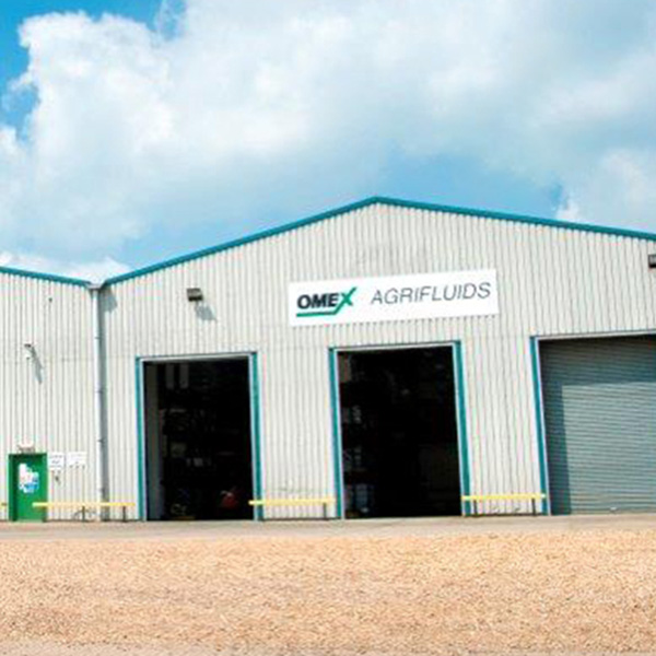 OMEX Agrifluids Ltd relocate to a new site at Saddlebow, Kings Lynn.