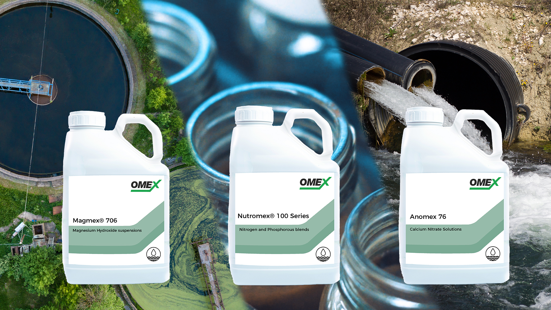 Wastewater Treatment Solutions – Reduce costs and improve plant performance